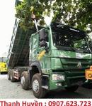 Tp. Hồ Chí Minh: Đại lý xe howo, Xe ben HOWO 4 chân thùng vuông 371HP, xe ben howo giá rẻ CL1681435