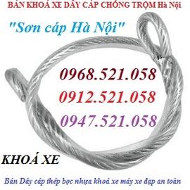 0913.521.058 bán khoá xe cáp bọc nhựa 1335 đường Giải Phóng, Hà Nội