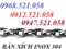 [1] 1335 Phố Giải Phóng bán xích Inox Hà Nội 0912.521.058 có nối xích Inox
