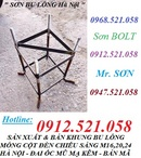 Tp. Hà Nội: Bán Bu Lông Neo, Móng 8. 8,5. 6 rẻ 0947. 521. 058 Sơn 1335 Giải Phóng Ha Noi CL1687596