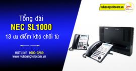 Tư vấn lắp đặt tổng đài điện thoại NEC chính hãng giá tốt