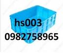 Tp. Hà Nội: khay nhựa đan, sóng nhựa đan, sọt nhựa đan, sóng nhựa hs011, thùng nhựa, rổ CL1692625P6