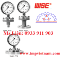 Tp. Hồ Chí Minh: Đại lý Wise Viet Nam, Đồng hồ áp suất Wise P2524 , TMP Viet Nam CL1688441