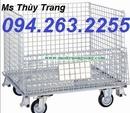 Tp. Hà Nội: xe đẩy hàng, sọt lưới thép, sọt lưới sắt, lồng trữ hàng, xe đẩy CL1692625P6