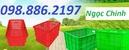 Tp. Hà Nội: thùng nhựa nắp kín, thùng nhựa, sóng nhựa đặc, thùng nhựa giá rẻ, khay CL1692625P6