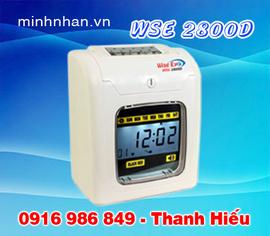 máy chấm công bằng thẻ giấy, máy bấm cơ WSE-2700, WSE2800, WSE-2600 tốt nhất