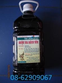 Rượu BA KÍCH TÍM- Rượu đặc biệt Bổ thận tráng dương, tăng sinh lý