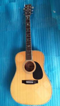 Morris acoustic guitar W 39M Nhật