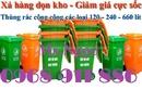 Tp. Hồ Chí Minh: Thùng rác công nghiệp, thùng rác y tế đạp chân, thùng đựng rác thải sinh hoạt CL1689496