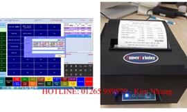 Combo phần mềm bán hàng và máy in bill tại Cần Thơ