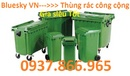 Vĩnh Phúc: thùng rác nhựa 240lit, xe chở rác 500lit, hộp đựng vất sắc nhọn màu vàng, thùng rác CL1700003P8