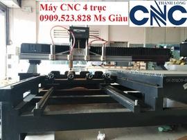 Máy CNC 4 trục đục tương nhập khẩu hiệu Singkey tại CNC Thành Long