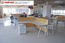 Tp. Hà Nội: Bàn làm việc chân sắt lựa chọn số một cho văn phòng hiện đại CL1703042