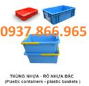 Vĩnh Phúc: thùng nhựa đặc, kệ đựng ốc vít ,sọt nhựa ,rổ nhựa bánh xe, rổ nhựa đan hs0199 CL1690692P9
