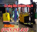 Tp. Hồ Chí Minh: Bán nhanh Xe nâng điện cũ 1 tấn 1. 5 tấn đứng lái ngồi lái cao 4m CL1690753P6
