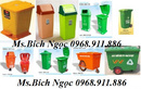 Tp. Hồ Chí Minh: Thùng rác nhựa môi trường, thùng rác 2 bánh xe, xre đẩy rác 660l, 1000l CL1690389