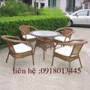 Tp. Hồ Chí Minh: thanh lý bộ bàn ghế nhà hàng, quán cà phê giá cực rẻ CL1690389