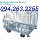 Thái Nguyên: sọt thép giá rẻ, sọt lưới thép, xe đẩy hàng, pallet lưới thép, pallet lươ CL1691516