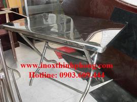 Bàn vuông inox Thịnh Phong