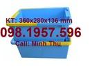 Vĩnh Phúc: thùng nhựa đặc, khay nhựa vát, thùng đựng linh kiện, thùng nhựa giá rẻ, CL1691637