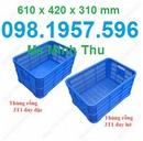 Tp. Hà Nội: sóng nhựa giá rẻ, rổ nhựa giá rẻ, sọt nhựa giá rẻ, thùng nhựa rỗng, k CL1691912