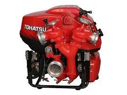 Bơm nước chữa cháy động cơ xăng Tohatsu V20 , Tohatsu V46, Tohatsu Vc20as