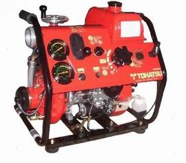 Bơm nước chữa cháy động cơ xăng tohatsu V46BS, Tohatsu V52AS, V20D2S tohatsu