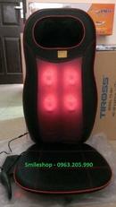 Tp. Hà Nội: Đệm ghế mát xa toàn thân hồng ngoại chính hãng Nhật Bản, đệm massage 8 bi mới CL1696513