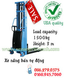 Tp. Hồ Chí Minh: Xe nâng điện bán tự động 1500kg nâng cao 3m giá tốt CL1666472
