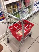 Tp. Hồ Chí Minh: xe đẩy hàng inox ở siêu thị CL1693721P19