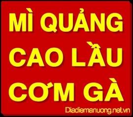 Quán Mì Quảng Ngon Quận 7