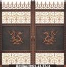Tp. Hà Nội: Cổng Nhôm Đúc Với Họa Tiết Rồng Uy Nghiêm CL1696864