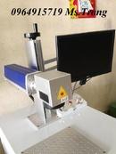 Tp. Hà Nội: Máy laser fiber khắc nhãn mác, khắc logo trên bề mặt kim loại CUS50017
