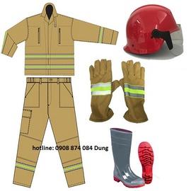 Quần áo chống cháy lính cứu hỏa sx tổng cục hậucần