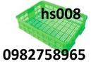 Tp. Hà Nội: rổ nhựa, rổ nhựa công nghiệp, thùng nhựa rỗng, sóng nhựa rỗng, sóng cá CL1694543
