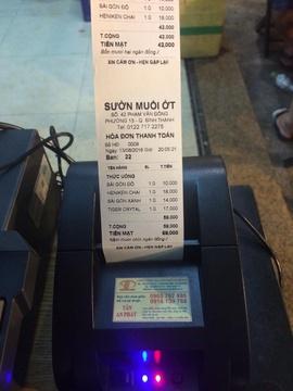 Phần mềm tính tiền giá rẻ cho QUÁN CAFE bán tại vũng tàu