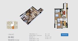 Bán căn 08 tòa N02 tầng trung giá 22,7tr/ m2 - CC 87 Lĩnh Nam