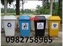Tp. Hà Nội: thùng rác y tế màu vàng, thung dung rac thai, thùng rác 15l, thung rac nhua, thung r CL1698606P6