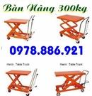 Tp. Hồ Chí Minh: Bàn nâng hàng 1 tấn, bàn nâng tay thủy lực 1 tấn giá tốt CL1695409