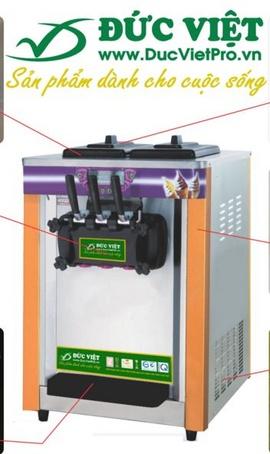 máy làm kem Đức Việt bán chạy 3s