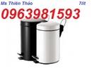 Tp. Hải Phòng: thùng rác inox tròn, thung rac inox co gat tan, thung rac inox gia re, thung rac CL1696449