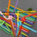 Tp. Hồ Chí Minh: Ống hút nhựa trân châu đa dạng màu CL1697797