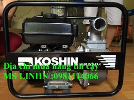Đại lý phân phối máy bơm nước Koshin chính hãng giá rẻ