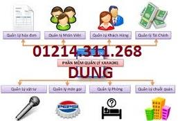 Phần mềm tính tiền tặng máy in bill cho karaoke tại CÁI RĂNG