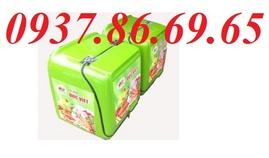thùng chở hàng ăn nhanh, thùng giao hàng tốc hành, thùng tiếp thi giá rẻ