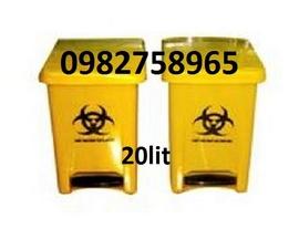 thùng rác y tế, thùng rác 15l, thùng rác nhựa, thùng rác 660l,