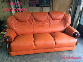 Bọc ghế sofa da bò quận 1 - Bọc ghế sofa như mới giá rẻ