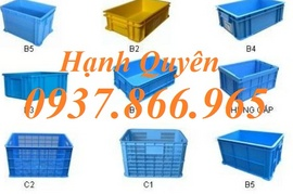 sọt nhựa hs015, thùng nhựa đặc b5, khay nhựa b4, rổ nhựa bánh xe hs0199