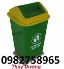 Tp. Hải Phòng: thùng rác, thùng rác nhựa 240l, thung rac nhua gia re, thung rac cong cong 120 CL1697277