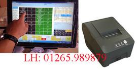 Phần mềm bán hàng cảm ứng kèm máy in hóa đơn tại Ninh Kiều